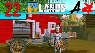 Ylands Ep22 - CAR And More Important FLIGHT (Survival/Crafting/Exploration/Sandbox Game)