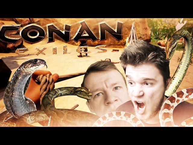 WIOSKA SETA! | Conan Exiles [#23] (With: Diabeuu, Plaga) #Bladii #Po polsku #PL #Survival