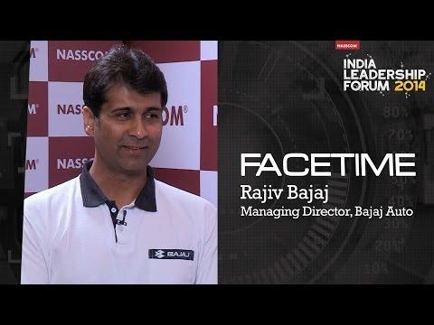 Rajiv Bajaj, Managing Director, Bajaj Auto video