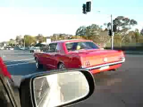 Howard Astill sweet 66 Mustang Video