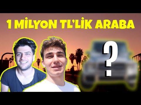 1.000.000 TL'LİK ARABAMIZ/AMERİKA VLOG ft.Reynmen