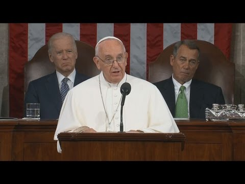 Pope Francis Delivers Historic Address to Congress