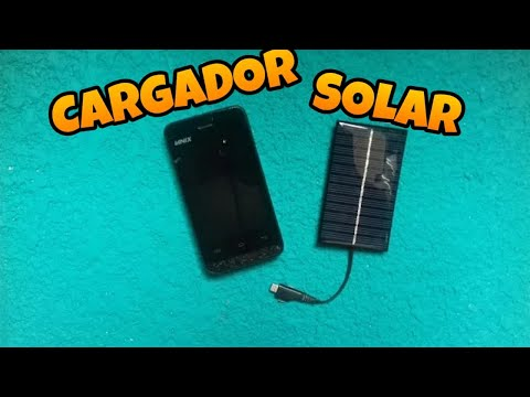 Como hacer un CARGADOR SOLAR (CUALQUIER DISPOSITIVO)