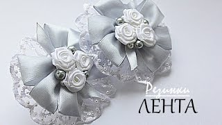 🎀 Нарядные Школьные Банты из Ленты / 🎀 Elegant School Bows