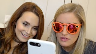 Snapchat Spectacles Unboxing and review! | iJustine