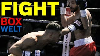 Nico Venetis vs Norbert Eszenyi - 10 rounds lightweight - 20.01.2018 - Empore Buchholz