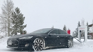 How good is the Tesla for driving in snow?