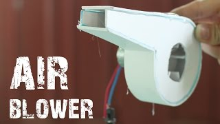 How to make an Air Blower using Foamex Boards