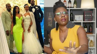 """Kim K. """"DISRESPECTS"""" 2 Chainz """"New Wife"""" on Their Wedding Day, Nicki Minaj Drops Wine on Blac Chyna"""