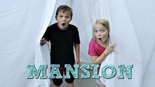 Blanket Fort Mansion Tour!