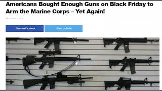 Hey Gun People - 2019 Gun Sales For Black Friday Over 200,000 In One Day - Love The 2nd