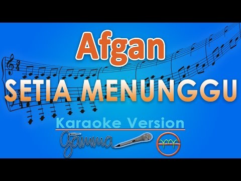 download lagu Afgan - Setia Menunggu Karaoke  Chord By G gratis