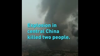 2 killed, 12 missing in gas factory explosion in China