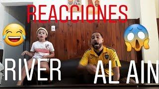 REACCIONES RIVER vs AL ALAIN (MUNDIAL DE CLUBES)
