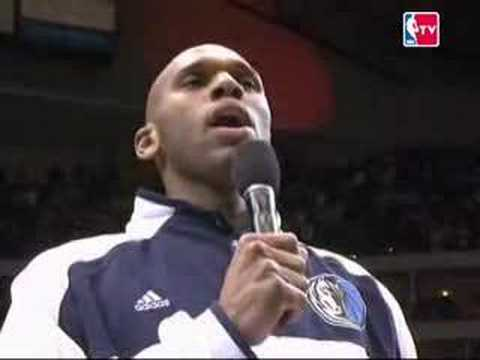 Jerry Stackhouse USA Anthem