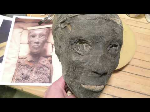 3D printed Replica of King Tut 's mummy