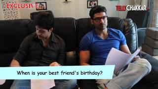 Friendship Day Special Meet the best buddiesGurmeet and Vije