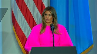 First Lady to UN: 'Step Up' to Protect Children