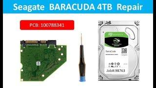 Seagate  ST4000DM005  ST4000VX007  ST4000VX000 100788341  repair data recovery