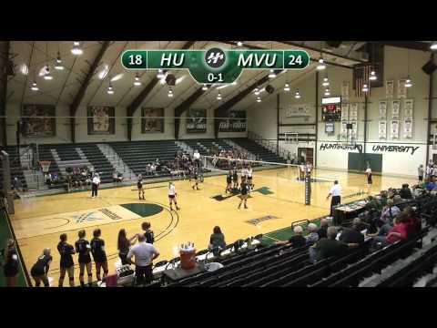 HU Volleyball vs. Mount Vernon Nazarene University
