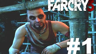 Far Cry 3 Walkthrough #1 | BEKSTVO IZ ZATVORA; SELO AMANAKI | ☆ Srpski/Hrvatski/Bosanski Gameplay ☆