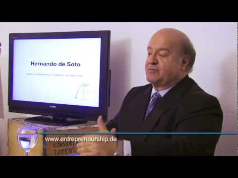 Hernando de Soto - On the financial crisis of the west