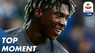 Kean scores his 6th goal for Juve | Spal 2-1 Juventus | Top Moment | Serie A
