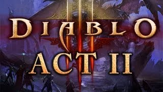 Let's Play Diablo 3 as Wizard - Act II part 1