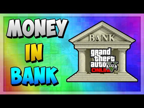 """GTA 5 ONLINE HOW TO PUT MONEY IN THE BANK"" ! (TUTORIAL)"