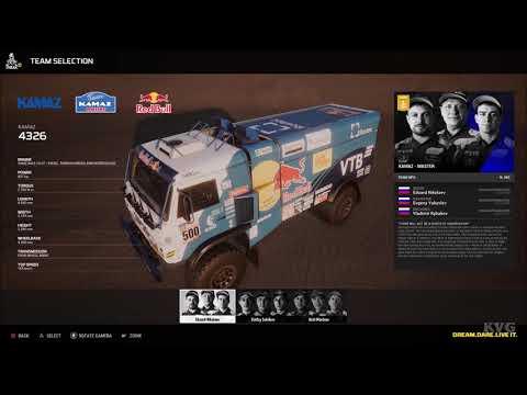 Dakar 18 - All Cars | List (PC HD) [1080p60FPS]
