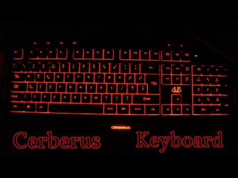 Asus Cerberus Gaming Keyboard Unboxing  -  English [4K]