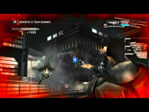 Binary Domain - Boss Tsar Runner