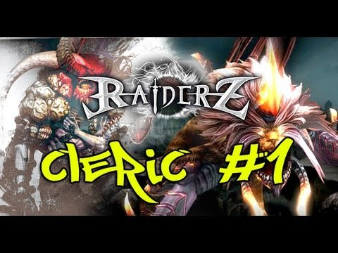 RaiderZ - Cleric [Skills Bsicas] #1