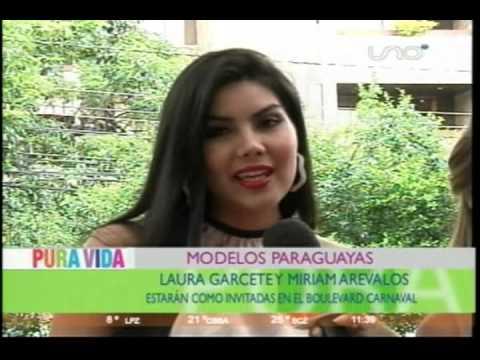 MODELOS PARAGUAYAS ESTARAN COMO INVITADAS EN EL BOULEVARD CARNAVAL