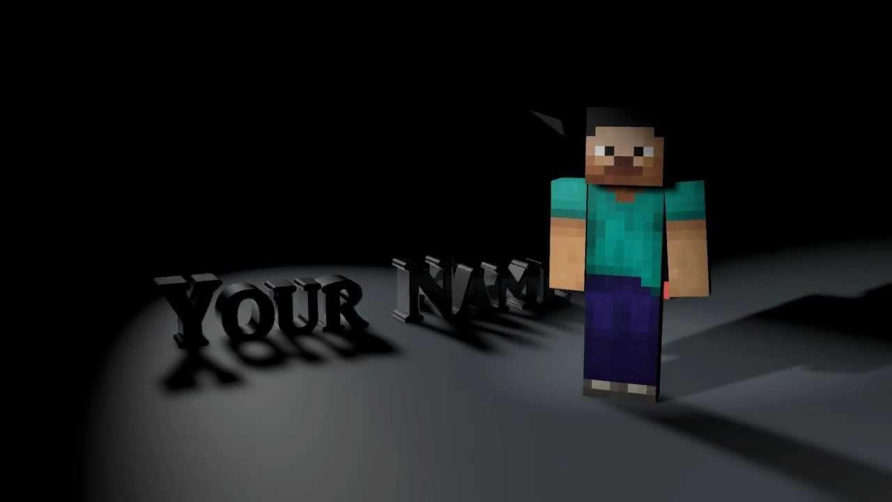 Cinema 4d Minecraft Intro