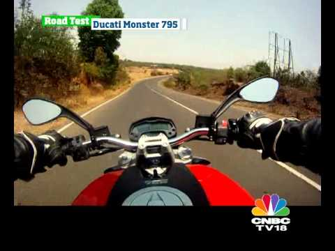 Ducati Monster 795 road test - OVERDRIVE