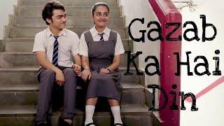 Gazab Ka Hai Din • I Feel Love • Cute School Love Version • 2018 Cutest Love WhatsApp Status Video
