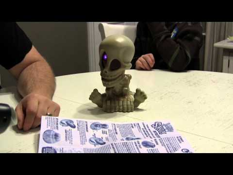 Johnny The Skull - Video Review - The Toy Spy