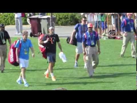Federer Nadal Ivanovic Li Na Sharapova BNP Tennis 2014