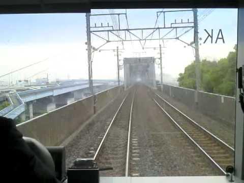 【長時間】京葉線下り快速E331系AK1編成全区間前面展望