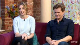 Downton Abbey's Charles Edwards & Laura Carmichael on This Morning
