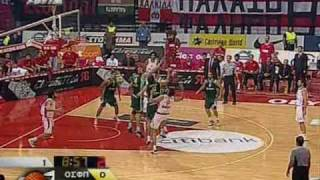 PANATHINAIKOS TOP-20 PLAYS AGAINST OLYMPIAKOS IN PLAYOFFS FINALS 2009
