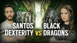 [BR] SANTOS DEX vs. BLACK DRAGONS | Play Day 1 | EliteSix S03 (PC)