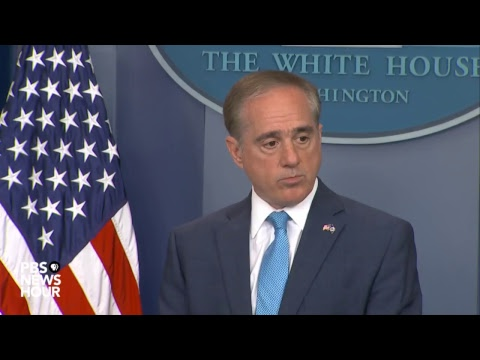 WATCH LIVE: Veterans Affairs Secretary David Shulkin holds news briefing at the White House