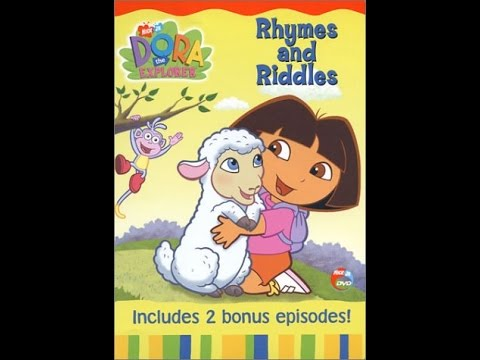 Dora the explorer rhymes and riddles