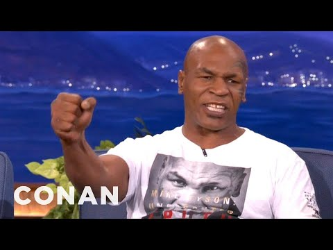 When Mike Tyson Saw Robin Givens With Brad Pitt  - CONAN on TBS