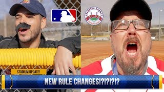 ROBOTS ARE TAKING OVER PROFESSIONAL BASEBALL!! | MLB RULE CHANGES 2019 | CITY OF HIGH POINT