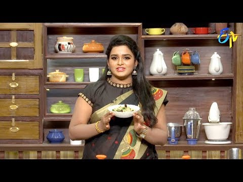 Telugu Ruchi | 1st November 2018 | Full Episode | ETV Telugu