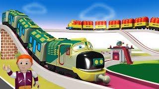 Cartoon Cartoon - Thomas The Train - Train Videos - Kids Videos for Kids - Toy Factory - कार्टून
