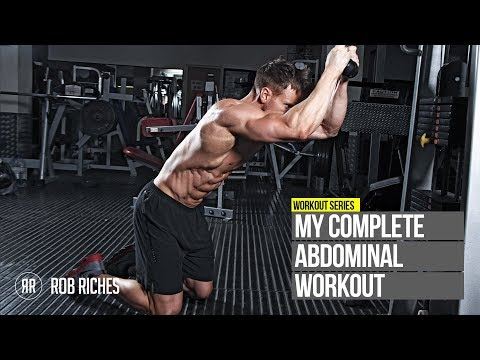 Rob Riches - Insane Definition for Lower Abs